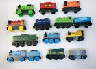 14pc Thomas Wooden Railway Train Lot GUC Derek Musical Caboose Troublesome Truck