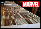 50 Comic Book HUGE lot All DIFFERENT Only Marvel Comics FREE Shipping