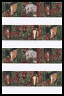 108 SS Animal Christmas Stickers HORSE Susan Winget