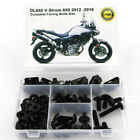 For 2012-2016 Suzuki V-Strom 650 Completet Fairing Bodywork Bolts Fasteners Kit