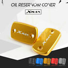 CNC Front Brake Fluid Reservoir Cover Cap For Yamaha X-MAX 300 XMAX250 2017-2019