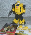 Hot Soldiers Spy Officer BIG YELLOW BEE Legends G1 Bumblebee