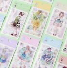 6 sheets set December girl series Washi stickers NEW scrapbook diary stickers