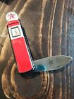 Franklin Mint Texaco Pocket Knife With Pouch