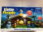 NEW NIB Fisher Price Little People Childrens Deluxe Nativity Set NISB 12 pcs