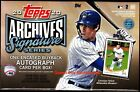 2020 Topps Archives Signature Active Player Baseball Factory Sealed Hobby Box