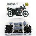 Complete Fairing Bolts Bodywork Fastener Kit For Kawasaki Ninja 500R 2001-2009