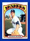 1972 TOPPS PICK YOUR CARD COMPLETE YOUR SET 402 782 VG TO NRMT