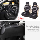 2Pcs Polyester Fabric Car Front Seat Cover Protector For Interior Accessories