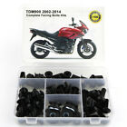 For Yamaha TDM 900 2002-2014 Steel Complete Fairing Bolt Bodywork Screw Nuts Kit