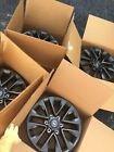 18 LEXUS GX460 2020 WHEEL RIMS FACTORY OEM 74297 WITH CAPS DARK GRAPHITE