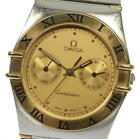OMEGA Constellation Day date gold Dial Quartz Men's Watch_524063