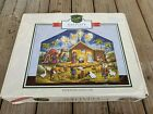 Byers Choice Christmas Nativity Advent Calendar Solid Wood New In Box