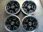 Oldsmobile Olds Cutlass Sup 14X6 Rally II Wheels Center Caps and Trim Ring set