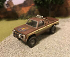 1982 GMC K2500 Fall Guy Rusty Weathered Barn Find 4x4 1/64 Diecast Custom Truck