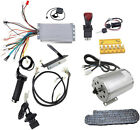 Electric Brushless DC Motor Kit 48V 1800W High Speed Motor Controller Go Kart