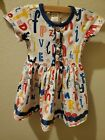 Wildflower Clothing ALPHABET SOUP Dress Girls Toddler Size 2 with Pockets
