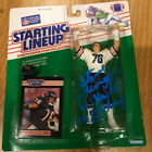RARE STEVE McMichael Signed Starting Lineup FIGURE Chicago BEARS PHOTO PROOF
