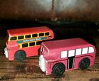 Thomas & Friends Train Wooden Railway Bertie and Bulgy Railway Bus Lot