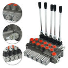 5 Spool Hydraulic Directional Control Valve 11gpm Adjustable Relief Valve in US