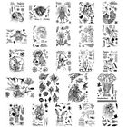 Animals Fish Racer Clear Stamp for DIY Scrapbooking Paper Cards Crafts Decor