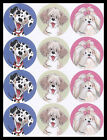 125 SS Animal Stickers DOG PUPPY SUZYS ZOO WAGS AND WHISKERS Suzy Spafford