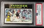 1971 TOPPS THURMAN MUNSON ALL-STAR ROOKIE #5 PSA 4+++ EXCELLENT CENTERING!