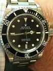 Rolex Submariner Black Dial No Date Stainless Steel Automatic Mens Watch 14060M