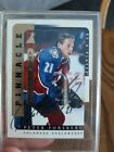 Peter FORSBERG - 96-97 BAP Be A PlayerLink To History AUTO #2B - HOF Avalanche