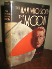 Signed Man Who Sold Moon Robert Heinlein First Edition 1st Printing Sci Fi