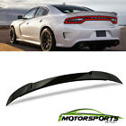Fits 2015-2018 dodge Charger SRT8 Black ABS Rear Trunk Spoiler 2016 2017