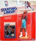 1989 NBA Starting Lineup Dell Curry Kenner Figure & Collector Card