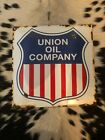 Old Vintage Porcelain Union Gas Oil Sign Collectable Advertising Mobil Sunoco 76