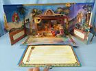 Vintage Holy Night An Illuminated Nativity Story With Fold Out Creche Book