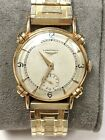 VINTAGE LONGINES ART DECO WRISTWATCH 14K SOLID GOLD CASE. CAL.22L RUNS WELL