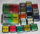 18 Ink Pads Fancy Ink Box Pretty Color Rubber Stampede  Personal Stamp