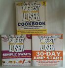 Lot of 3 Biggest Loser Books SIMPLE SWAPS Jump Start COOKBOOK Weight Loss