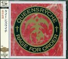 QUEENSRYCHE RAGE FOR ORDER SHM REMASTERED CD +4 - JAPAN 2015 - NEW/GIFT PERFECT!
