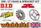 Hyosung RX125 D 2011 [DID / JT Gold VX] [X-Ring Chain and Sprocket Kit]
