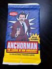 Ron Burgundy Anchorman Trading Cards - New, sealed pack of 12 collectible!