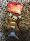 Rudolph the Red Nosed Reindeer Hallmark Ornaments LOT OF 2 VINTAGE RARE NEW NWTS