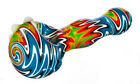 Hawaiian Tsunami WigWag Hand Pipe Glass Pipes Bowl Glass Pipe Bong Helix USA