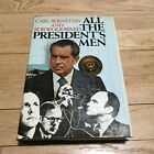 All the Presidents Men SIGNED by Bob Woodward 1974 Hardcover richard nixon
