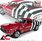AUTOWORLD AW259 118 1968 1 2 FORD MUSTANG SANDY ELLIOT SUPER STOCK