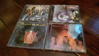 4 Black N Blue Remastered CD's (NEW) Without Love In Heat Nasty Nasty Dio Ratt
