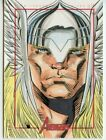 Marvel's Greatest Heroes Avengers Sketch Card - ROY COVER - THOR
