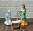 MIB Coalport Wedgwood Nativity Jesus Mary Joseph Free Shipping