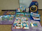 Thomas the Train DVD Book Puzzle Backpack tote bag magazine coloring game lot