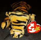 1995 Ty Beanie Baby Stripes Tiger PVC PELLETS RARE RETIRED Factory Errors #4065