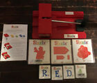Sizzix Personal Die Cutter With 7 Templates Lot Cupid Santa Tags And R E D
